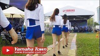 Xe và Người đẹp bốc lửa tại Đại hội Exciter - Yamaha Y-Riders 2016 Đà Nẵng ✔