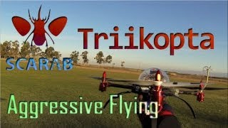 Scarab Triikopta // Aggressive Tricopter Flying