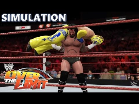 WWE 2K16 SIMULATION: Rey Mysterio vs CM Punk -Hair vs Rey joins SES | Over the Limit 2010 Highlights