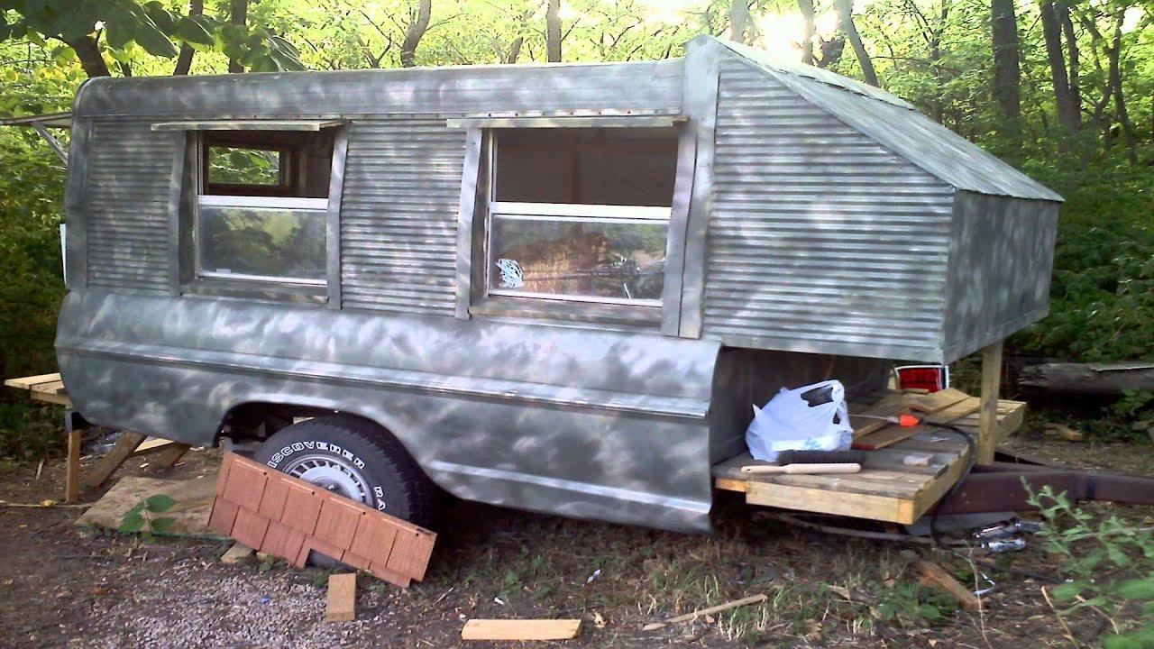 Truckbed Camper Youtube