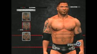 WWE 13 / 2K14 Batista CAW Make Your Own Ep 4 Tattoos