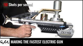 DIY electric rotary gun   50 shots per second