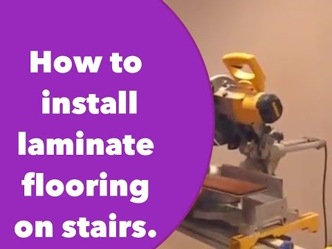 Laminate Stairs Youtube