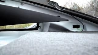 2013 Ford Mustang Rear Deck Speaker Install