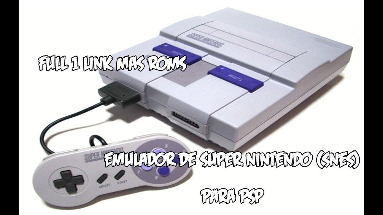 emulador super nintendo psp: