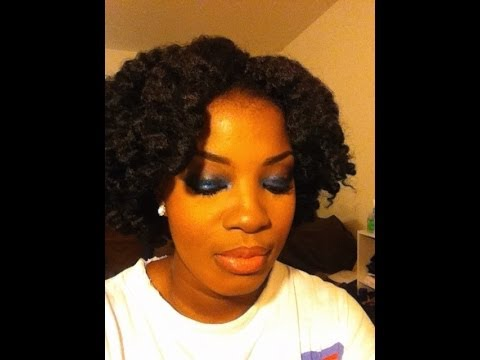 Crochet Braids Hair Youtube : Crochet Braids Using Marley Hair - YouTube