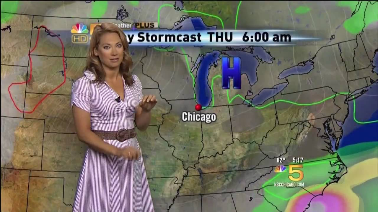 Hot Weather Girl Ginger Zee