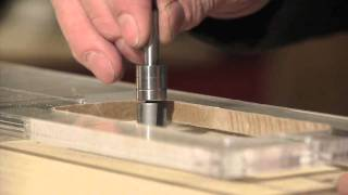 Watch the Trade Secrets Video, Neck Joint Routing Template For Fender