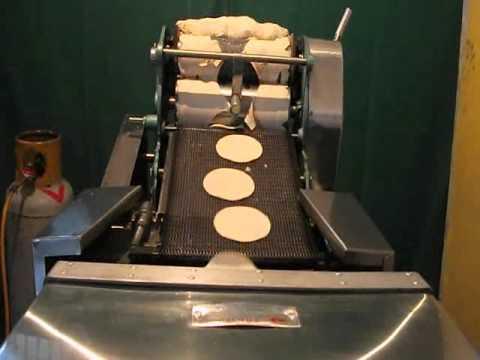 Maquina de hacer hamburguesas automatica