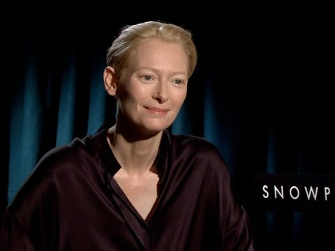 Tilda Swinton Talks 'Snowpiercer'