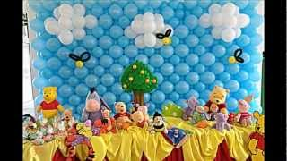 Winnie Pooh Birthday Party Ideas By Carmen Party For Kids