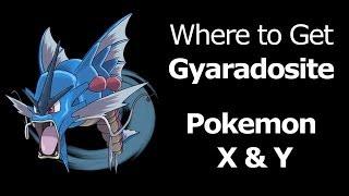 Where To Find Gyaradosite Pokemon X Y Gyaradosite Mega