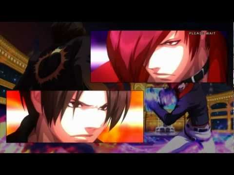 KOF XIII (13) - All Cutscenes, endings of KOF XIII (English Version)