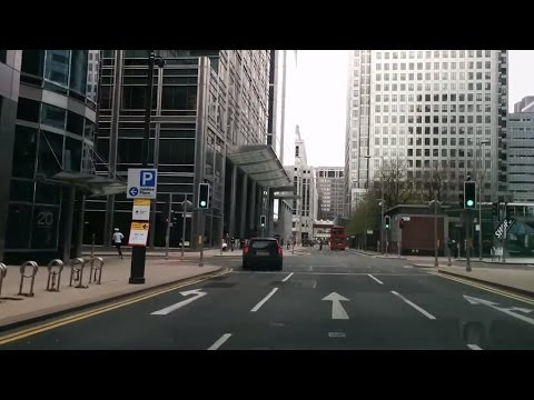 [NEW] Driving in London - Canary Wharf to North Greenwich via Blackwall Tnl