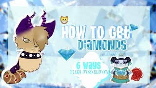 Animal Jam; How To Get Diamonds. ♥ { 6 Ways, Working In