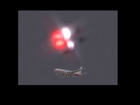 NEW UFO FOOTAGE just before Malaysia flight 370 went missing, Part 1