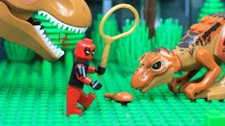 Lego Spiderman: Deadpool Jurassic Dream