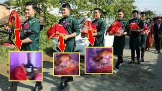 Nhìn thấy lễ vật bên trong tráp ăn hỏi của Lê Phương và Trung Kiên ai cũng choáng - Tin Tức Sao Việt
