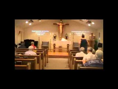Messiah Lutheran Church service from May 20th