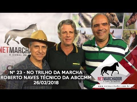 #23 - NO TRILHO DA MARCHA - ROBERTO NAVES TÉCNICO DA ABCCMM - 26/02/2018  - MANGALARGA MARCHADOR HD