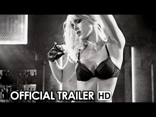 Sin City: A Dame To Kill For Official Trailer #1 (2014) HD
