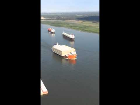 Sea Hawk Marine Logistics Mississippi River Barges to South America