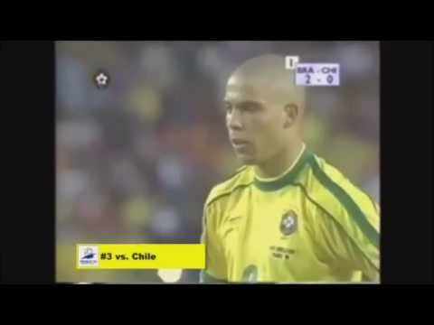 RONALDO DA LIMA ALL WORLD CUP GOAL