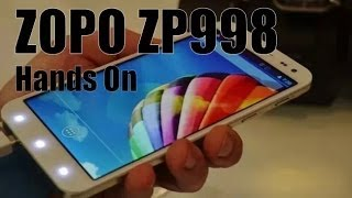 Zopo ZP998 Hands On MediaTek MT6592 Octa Core, 2Gb Ram
