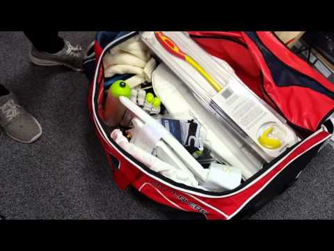 Gray-Nicolls GN Players Stand Up Wheelie Cricket Bag