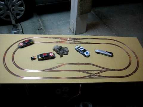 digital slot car track video
