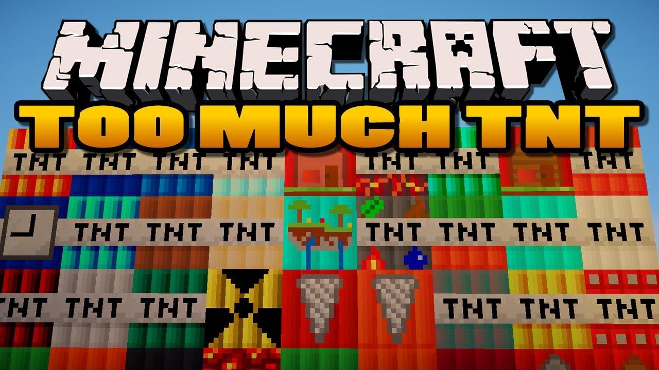 How Do I Craft Mega Dynamite In Minecraft Pe