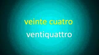 Curso de Italiano. Clase 8