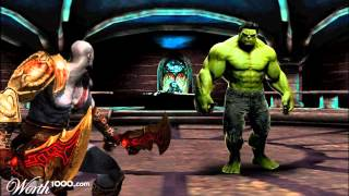 Who Would Win? The Hulk Vs Kratos