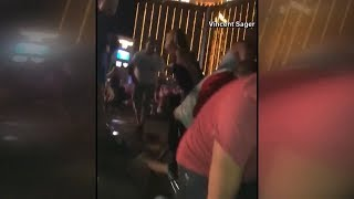 Las Vegas Shooting: compilation of cell phone video capturing chaos after deadly shooting