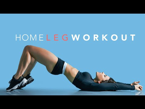 At Home LEG WORKOUT (Build Muscle & Burn Fat!)