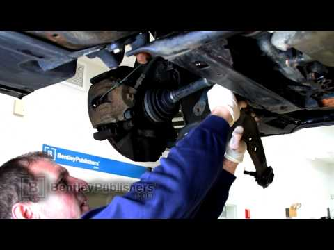 BMW 3 Series E46 Front Lower Control Arm, Replacing - How To Replace
