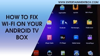 HOW TO FIX WIFI ON MX2, HOW TO FIX WIFI ON ANDROID TV BOX