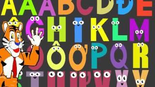 Dạy bé học bảng chữ cái Tiếng Việt  - Learn The Vietnamese Alphabet For Kids