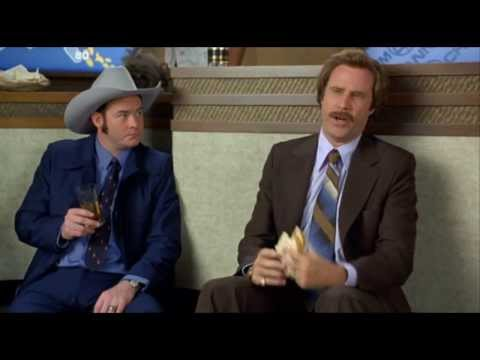 Anchorman Jogging