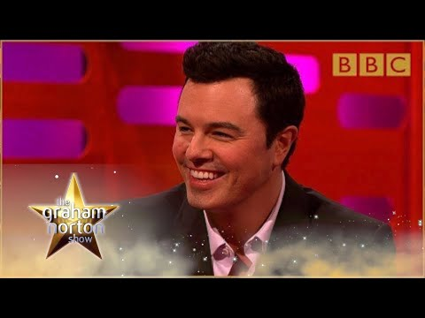 Seth MacFarlane performs his Family Guy voices - The Graham Norton Show : Episode 9 - BBC One,