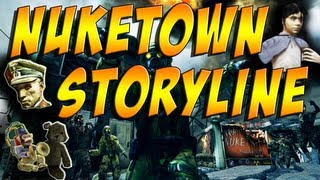 Black Ops 2 Zombies: Nuketown Storyline Richtofen