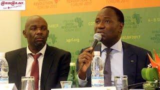 7e édition de l'AGRF : Le ministre Mamadou Sangafowa,