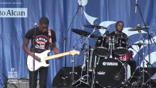 Jamiah On Fire & The Red Machine - Concert 2012