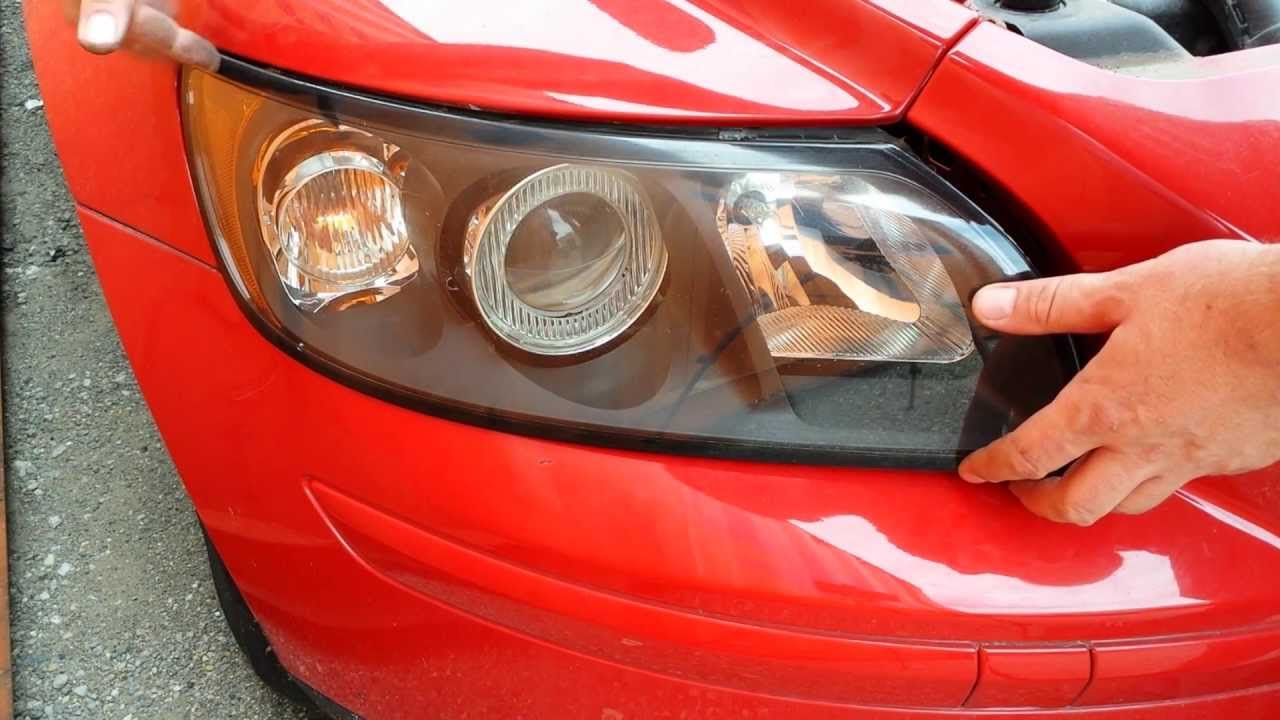 How to replace front headlight headlamp light bulbs on a ...