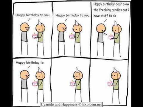 Funny Happy Birthday Song Youtube