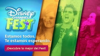 Disney Channel Fest 2014 JULIO Latino America
