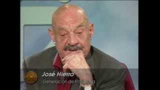 Poetas españoles contemporáneos: José Hierro
