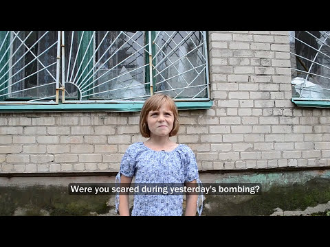 Ukraine Crisis Today: Punitive Operation in Eastern Ukraine - Interviewing civilians [Eng subtitles]