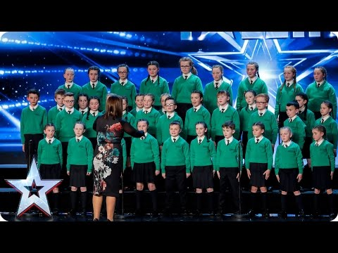 St. Patrick's Junior Choir sing their hearts out | Auditions Week 3 | Britain's Got Talent 2017