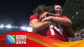 Magali Harvey scores INCREDIBLE try for Canada in Women's Rugby World Cup semi final